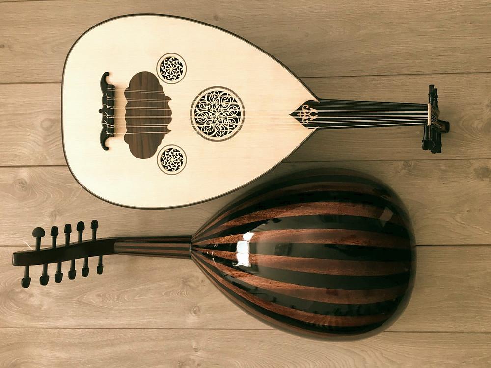 Oud instrumento de música árabe