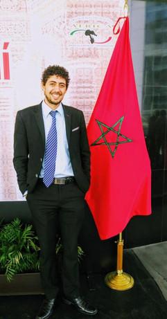 Hicham Billouch en el Senado de la Republica