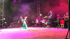Nour Marruecos música árabe  en el festival Lerdantino m