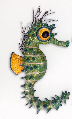 'Lough Hyne Seahorse Male', Ceramic Wall Sculpture