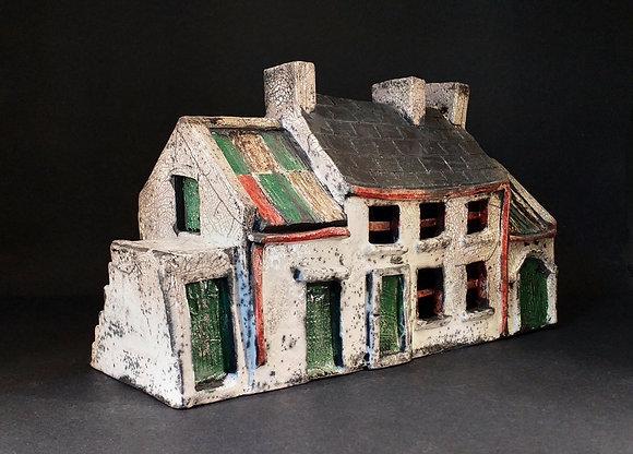 'Jimmy's Cottage', Raku-Fired Ceramic