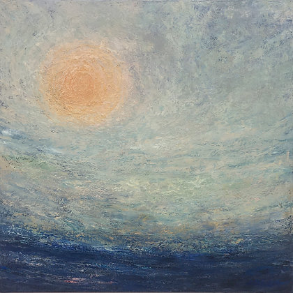 'Harvest Moon', Oil on Canvas