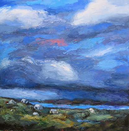 'Vanishing Island', Oil on Canvas