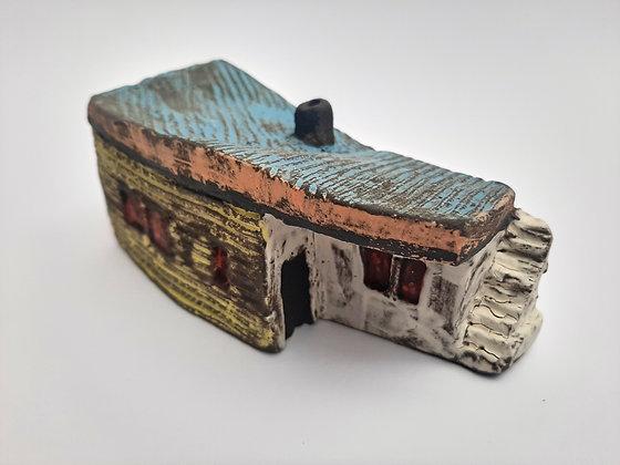 'Cabin Fever #4', Hand Built Ceramic