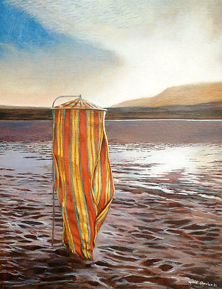 'When the Tide Went Out 2', Acrylic on Canvas