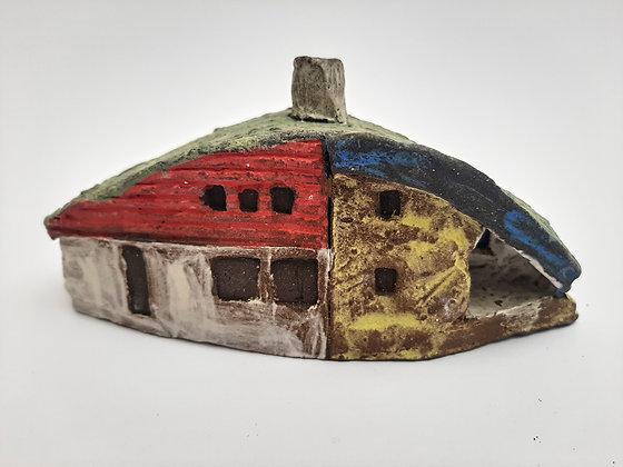 'Cabin Fever #11', Hand Built Ceramic