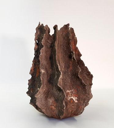 'Brow Head II', Sculptural Stoneware Vessel