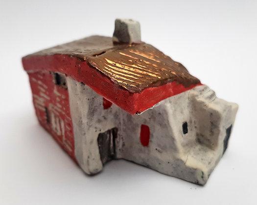 'Cabin Fever #9', Hand Built Ceramic
