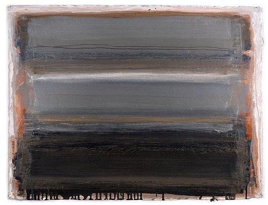 'Adagio', Oil on Paper (framed)