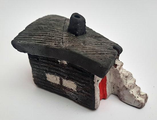 'Cabin Fever #13', Hand Built Ceramic