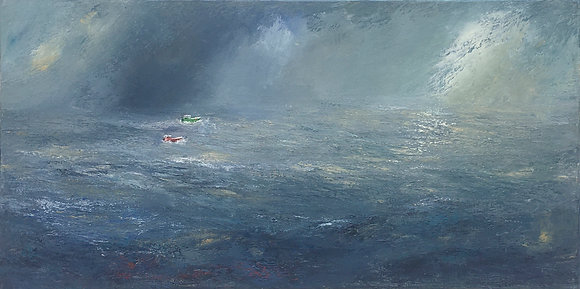 'Harvest of the Sea', Oil on Canvas