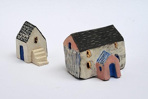 'Down the Lane', Ceramic Barns