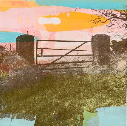 'West Cork Gate I', Mono Screen Print (unframed)