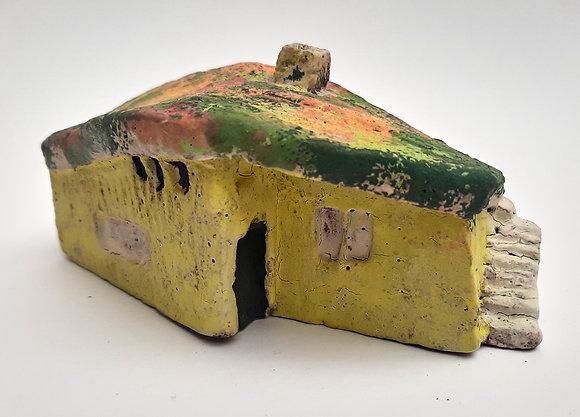 'Cabin Fever #12', Hand Built Ceramic