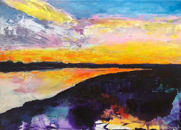 'Indescribable Wedge of Freedom', Acrylic on Canvas