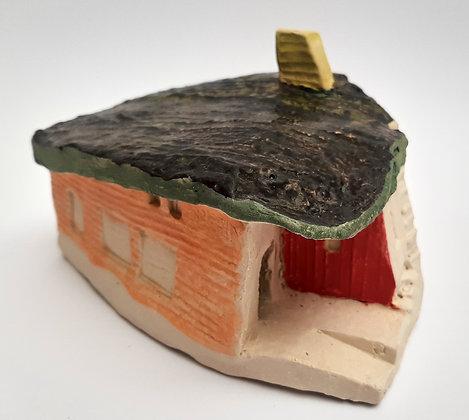 'Cabin Fever #15', Hand Built Ceramic