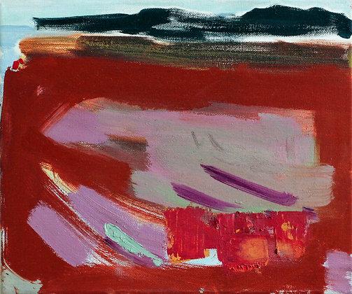 'Seaweed Season', Oil on Canvas  (framed)