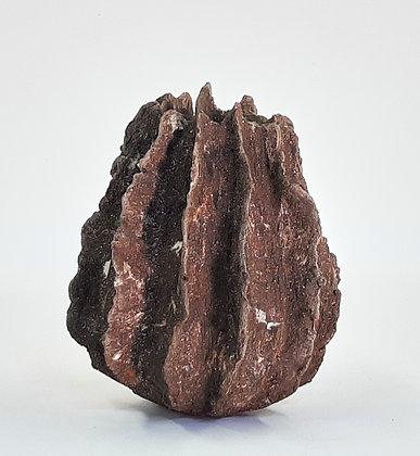 'Brow Head III', Sculptural Stoneware Vessel