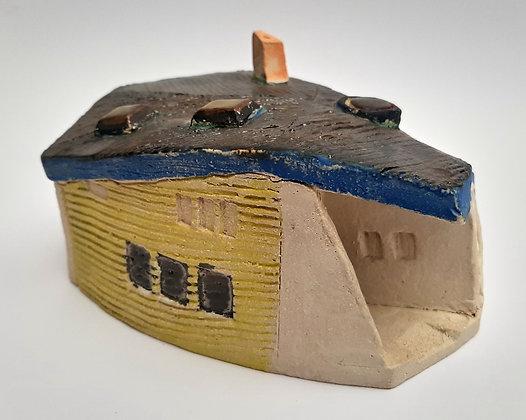 'Cabin Fever #16', Hand Built Ceramic