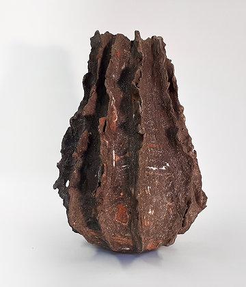 'Brow Head I', Sculptural Stoneware Vessel