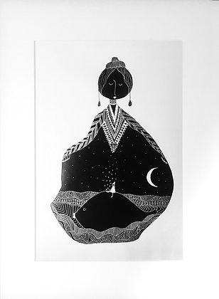 'Big Fish', Limited Edition A4 Print