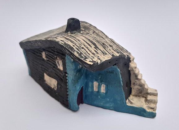 'Cabin Fever #3', Hand Built Ceramic