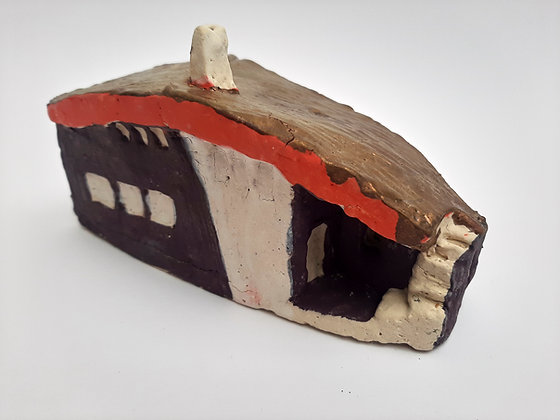 'Cabin Fever #8', Hand Built Ceramic