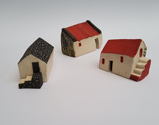 'A Good Harvest', Ceramic Barns