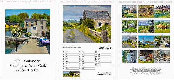 2021 Calendar, Sara Hodson