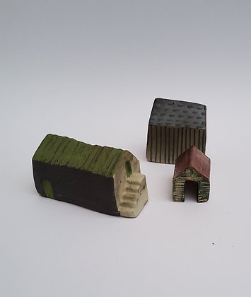 'An Beal Bocht' (The Poor Mouth), Ceramic Barns