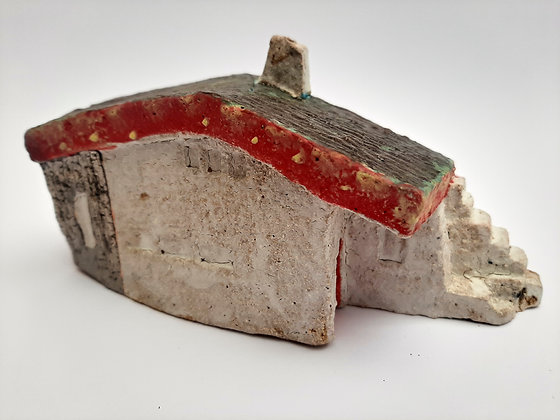 'Cabin Fever #7', Hand Built Ceramic