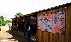 Langaland Mural @ The Barn