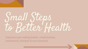 Small Steps to Better Health