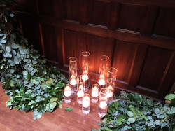 Irises Designs Candle Arrangement