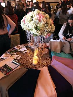 Irises Designs Table Setup