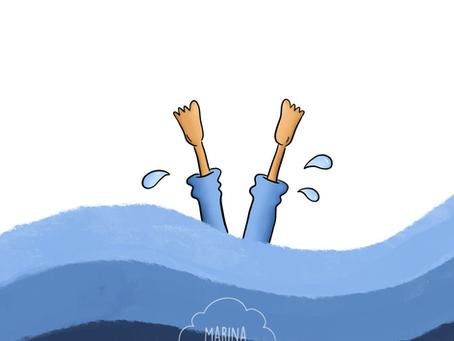 Un poco de agua
