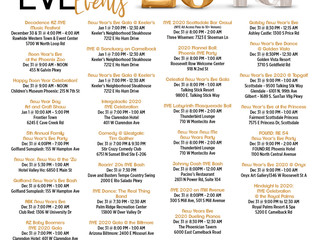 Things To Do New Years in The Valley!