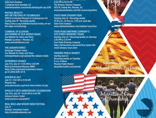 Looking for Things to Do Around the Valley in July...Look No Further!