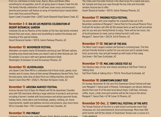 A Lot of Fun Things to Do Around the Valley this November!