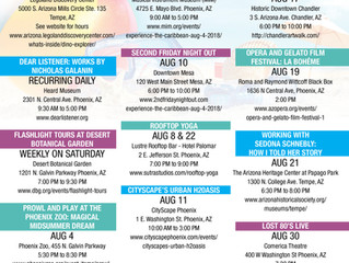 THINGS TO DO IN THE VALLEY IN AUGUST