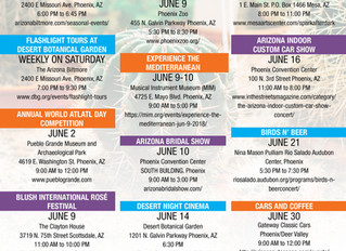 Fun Things Around the Valley In June!