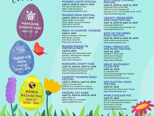 April Events...So many fun things to do!