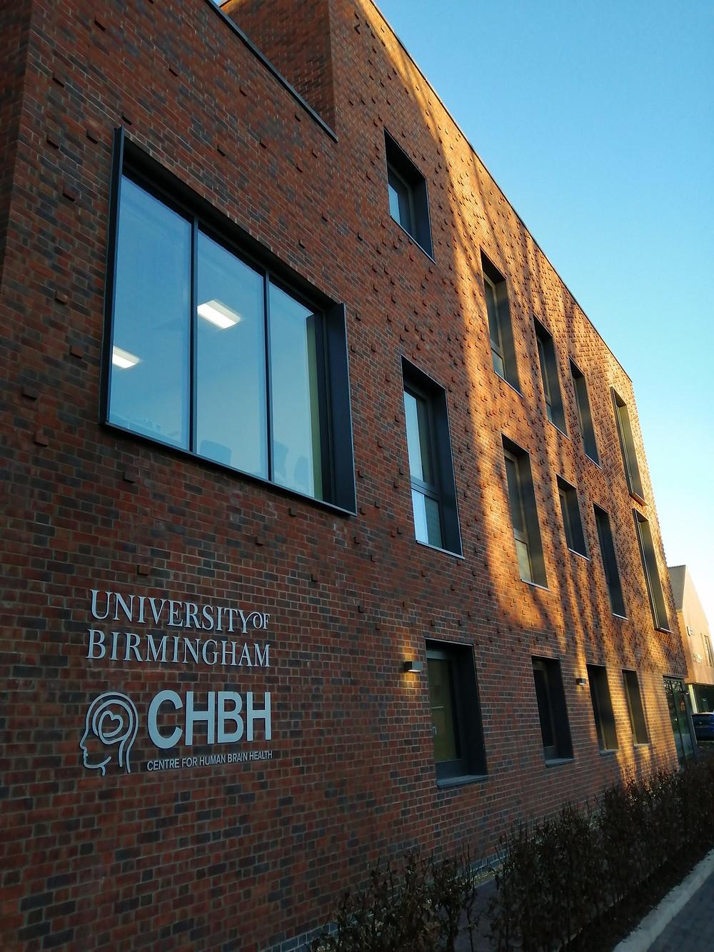 Study at the CHBH, Birmingham