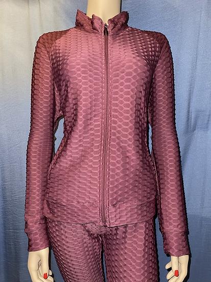 Zip Up Sweater and Leggings Set