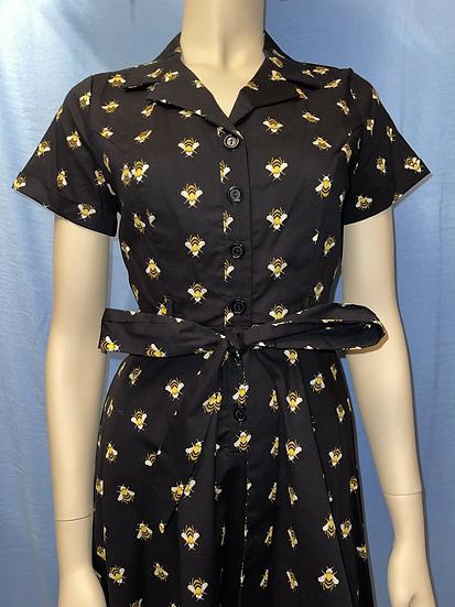 Bee Button Up Dress
