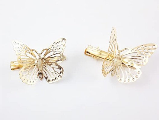 2 Piece Butterfly Hair Clips