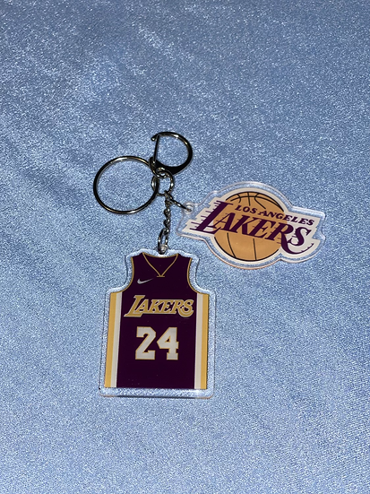 Los Angeles Lakers Jersey Keychains