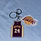 Thumbnail: Los Angeles Lakers Jersey Keychains