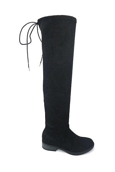 Modern Thigh High Long String Lace Boots