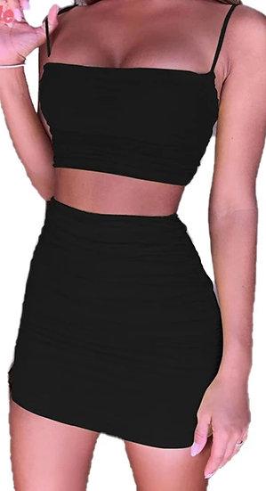 Bodycon Two Piece Skirt Set